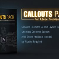 VIDEOHIVE CALLOUT LINE PACK FOR PREMIERE