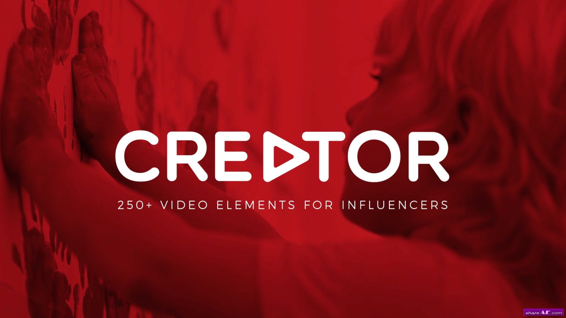 CREATOR: 250+ ELEMENTS FOR INFLUENCERS AND VLOGGERS - MOTION