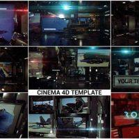 VIDEOHIVE ROTATUS 3 – CINEMA 4D TEMPLATE