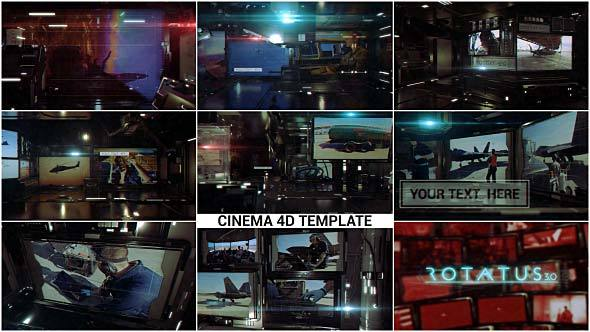 Videohive Rotatus 3 Cinema 4d Template