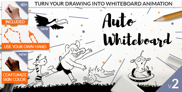 VIDEOHIVE AUTO WHITEBOARD FREE DOWNLOAD - Free After Effects