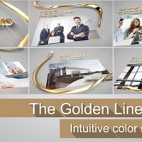 THE GOLDEN LINE – VIDEOHIVE