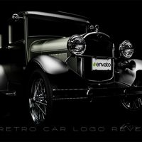 VIDEOHIVE RETRO CAR LOGO REVEAL FREE DOWNLOAD