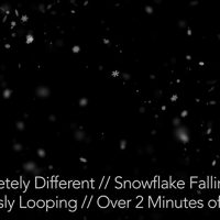 VIDEOHIVE SNOW FALLING – MOTION GRAPHIC