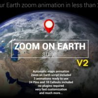 VIDEOHIVE ZOOM ON EARTH SUITE V2 – AFTER EFFECTS TEMPLATE