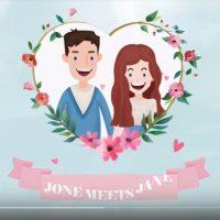 VIDEOHIVE FRESH COLOR WEDDING INVITATION