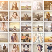 VIDEOHIVE MOSAIC POP PHOTOS DISPLAYS