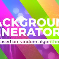VIDEOHIVE BACKGROUND GENERATOR