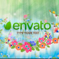 VIDEOHIVE SPRING LOGO FREE AFTER EFFECTS TEMPLATE