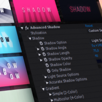VIDEOHIVE ADVANCED SHADOW FREE AFTER EFFECTS ADD-ON