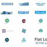 VIDEOHIVE FLAT LOGO PACK FREE DOWNLOAD