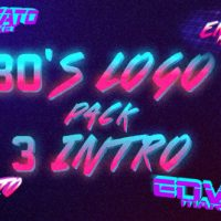 VIDEOHIVE 80'S LOGO INTRO PACK 3 IN 1