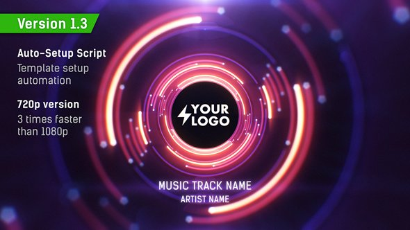 VIDEOHIVE AUDIO REACT TUNNEL MUSIC VISUALIZER V1 3 - Free