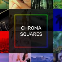 VIDEOHIVE CHROMA SQUARES DYNAMIC SLIDESHOW