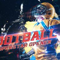 VIDEOHIVE FOOTBALL SUPERSTAR OPENER