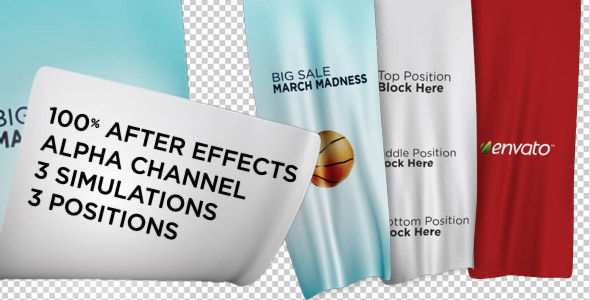 Videohive Unfolding Banners Free After Efectes Template