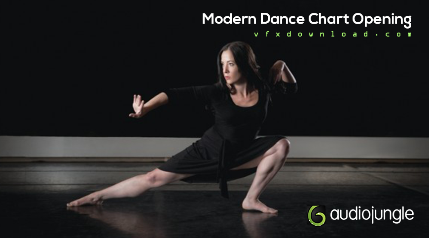Modern dance chart opening 620352 audiojungle free after effects.