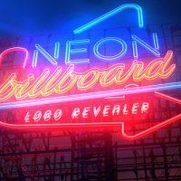 VIDEOHIVE NEON BILLBOARD LOGO REVEALER