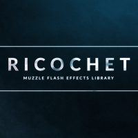 RICOCHET – 450+ MUZZLE FLASH & GUN SMOKE EFFECTS – AFTER EFFECTS TEMPLATE (ROCKETSTOCK)