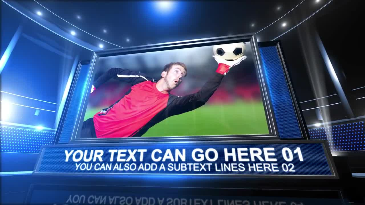 Sports Package After Effects Template Motion Array