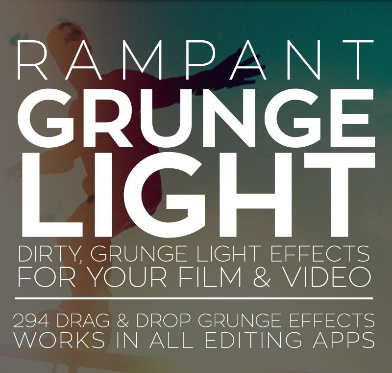 RAMPANT DESIGN TOOLS - GRUNGELIGHT - Free After Effects