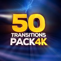 VIDEOHIVE TRANSITIONS PACK – 4K – MOTION GRAPHICS