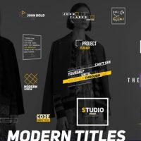 VIDEOHIVE MODERN TITLES 20937433