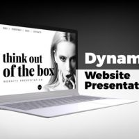 VIDEOHIVE DYNAMIC WEBSITE PRESENTATION