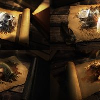 VIDEOHIVE ANCIENT EPIC SCROLL