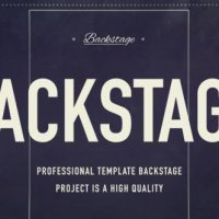 VIDEOHIVE BACKSTAGE 18922549