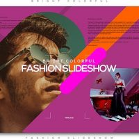 VIDEOHIVE BRIGHT COLORFUL FASHION SLIDESHOW