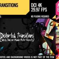 VIDEOHIVE DISTORTED TRANSITIONS (GLITCH TOOL)