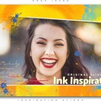 VIDEOHIVE DROP INKED INSPIRATION SLIDES
