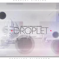 VIDEOHIVE DROPLET CIRCLES PARALLAX SLIDESHOW