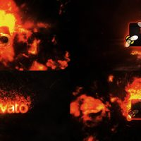 VIDEOHIVE FIRE LOGO REVEAL 19566757