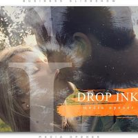 VIDEOHIVE INK DROP ROMANTIC MEDIA OPENER