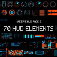 VIDEOHIVE MASSIVE HUD PACK 3