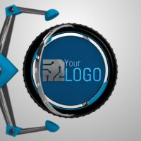 VIDEOHIVE MECHANICAL ARMS LOGO