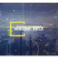 VIDEOHIVE MODERN PARALLAX CINEMATIC SLIDESHOW