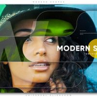 VIDEOHIVE MODERN SHAPES UNIVERSAL SLIDESHOW