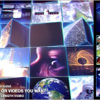 VIDEOHIVE MOSAIC BLOCK REVEAL – TECH