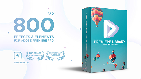 VIDEOHIVE PREMIERE LIBRARY - MOST HANDY EFFECTS - PREMIERE