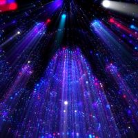 VIDEOHIVE PARTICLES RAYS STAGE HALL VJ LOOP – MOTION GRAPHIC