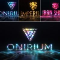 VIDEOHIVE GEMS & LIGHTS – GEMSTONES LOGO REVEAL PACK