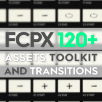 VIDEOHIVE FCPX ASSETS TOOLKIT AND TRANSITIONS