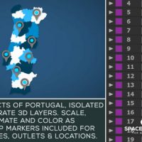 VIDEOHIVE PORTUGAL MAP KIT