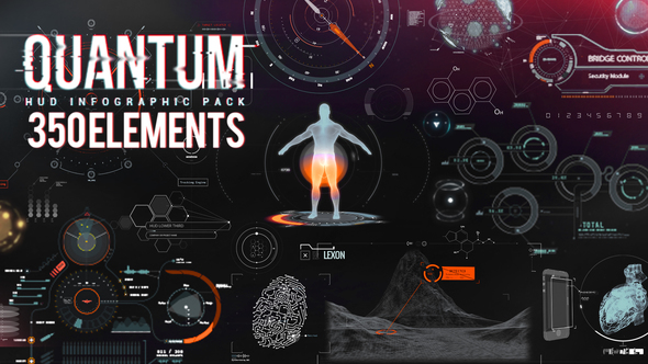QUANTUM HUD INFOGRAPHIC - AFTER EFFECTS PROJECT (VIDEOHIVE