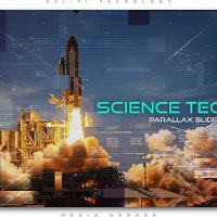 VIDEOHIVE SCIENCE TECHNO PARALLAX SLIDESHOW