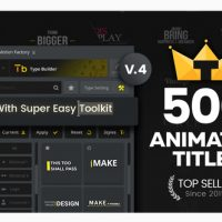 VIDEOHIVE TYPOKING   TITLE ANIMATION – KINETIC TYPOGRAPHY TEXT V4.1
