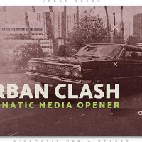 VIDEOHIVE URBAN CLASH CINEMATIC MEDIA OPENER